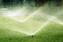 lawn irrigation - fixed-spray sprinklers