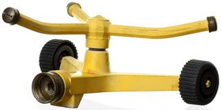 portable water sprinkler (yellow)